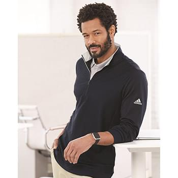 Performance Texture Quarter-Zip Pullover