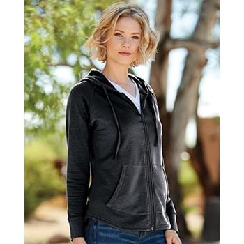 Women's Heat Last Fleece Faux Cashmere Full-Zip Hooded Sweatshirt