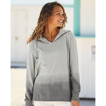 Women's French Terry Ombré Hooded Sweatshirt