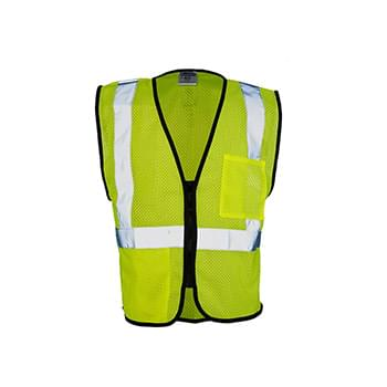 Class 2 Double-Pocket Zippered Economy Vest