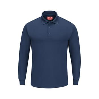 Long Sleeve Performance Knit Polo