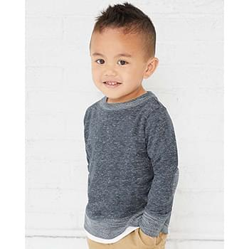 Toddler Harborside Mélange French Terry Crew