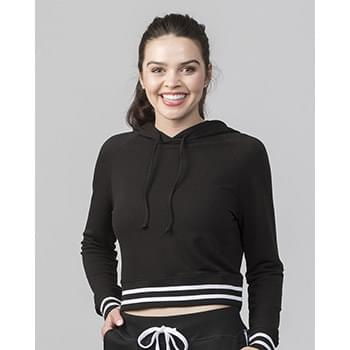 Women's Hooded Cropped Sweatshirt
