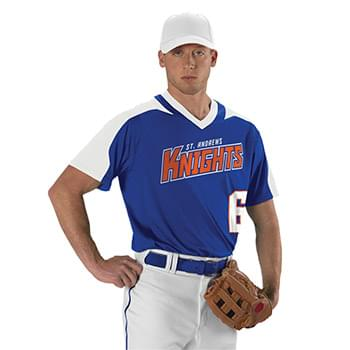 Youth V-Neck Baseball Jersey