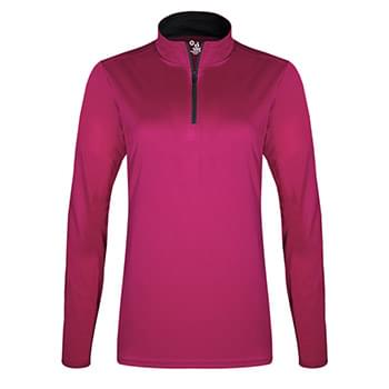 Girls' B-Core Quarter-Zip Pullover