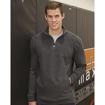 FitFlex French Terry Quarter-Zip Sweatshirt