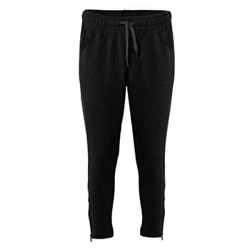 FitFlex Women's French Terry Ankle Pants