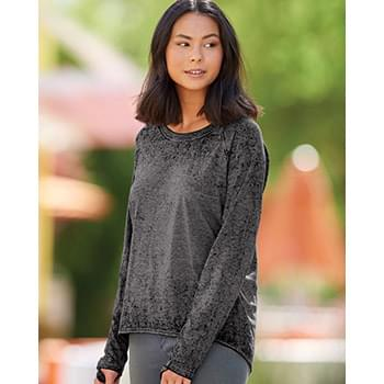 Women's Zen Jersey Hi-Low Long Sleeve T-Shirt