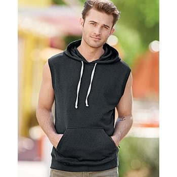 Triblend Sleeveless Hooded Sweatshirt