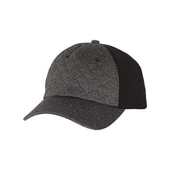 Cap with Quilted Front
