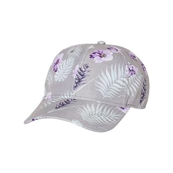 Tropical Print Cap