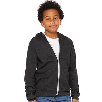 Youth Sponge Fleece Full-Zip Hoodie