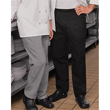 Baggy Chef Pants with Zipper Fly