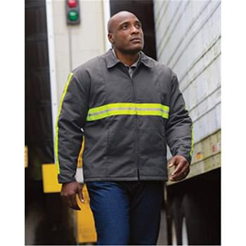 Enhanced Visibility Perma-Lined Panel Jacket - Long Sizes