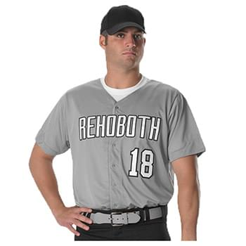 Full Button Lightweight Baseball Jersey