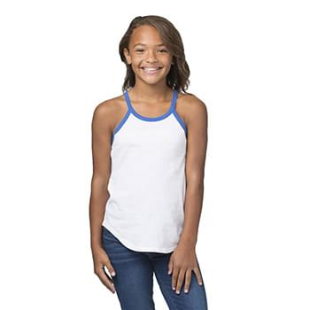 Girls' Ringer Tank Top