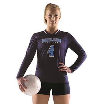 Women's Long Sleeve Volleyball Jersey