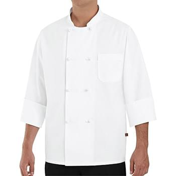 Eight Knot Button Chef Coat Long Sizes