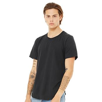 Fast Fashion Jersey Curved Hem Tee