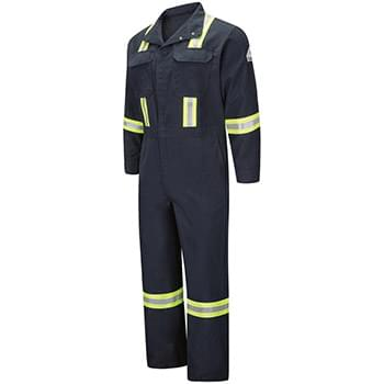 Premium Coverall with Reflective Trim - Nomex® IIIA - 6 oz.