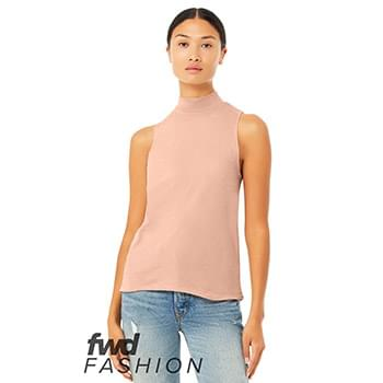 Fast Fashion Women's Mock Neck Tank