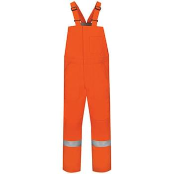 Deluxe Insulated Bib Overall with Reflective Trim - EXCEL FR® ComforTouch - Long Sizes