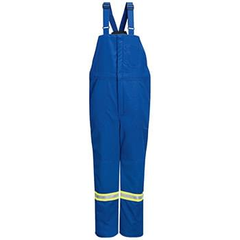 Deluxe Insulated Bib Overall with Reflective Trim - Nomex® IIIA - Long Sizes