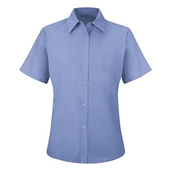 Women's Short Sleeve Specialized Pocketless Work Shirt