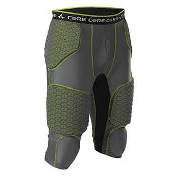 Integrated 7 Padded Football Girdle
