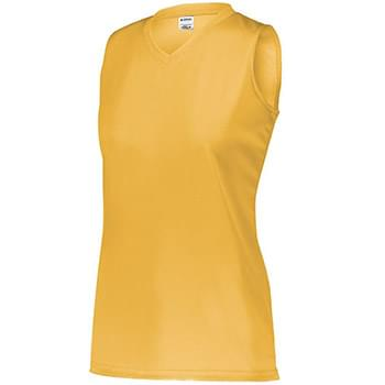 Girls' Sleeveless Wicking Attain Jersey
