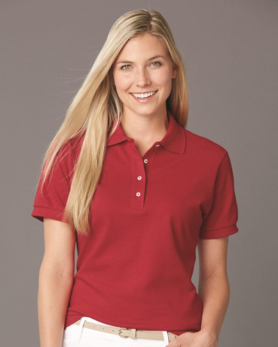 Ringspun Cotton Women's Pique Sport Shirt