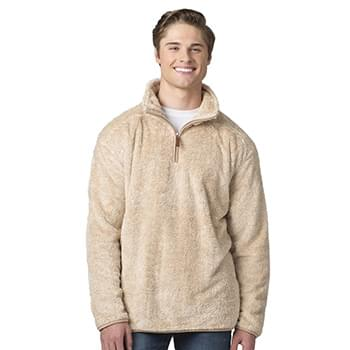 Fuzzy Fleece Quarter Zip Pullover