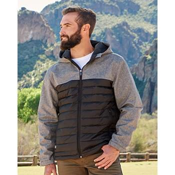 Pinnacle Soft Shell Puffer Jacket