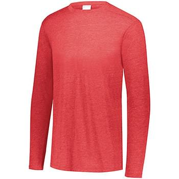 Triblend Long Sleeve Crewneck T-Shirt