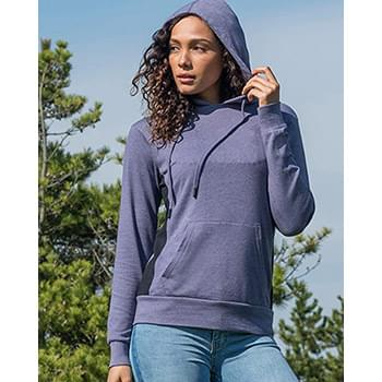 Women's French Terry Side Stripe Pullover