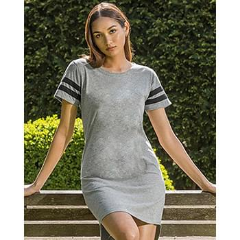 Women's Varsity T-Shirt Dress