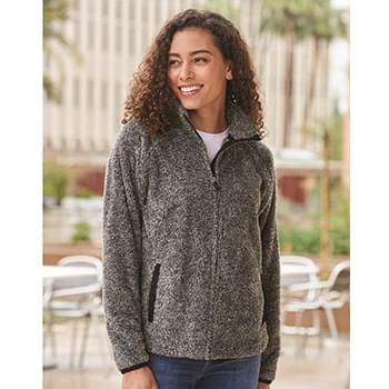 Women's Boundary Shag Frosty Sherpa Full-Zip