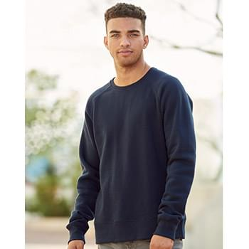 Ripple Fleece Raglan Crewneck Sweatshirt