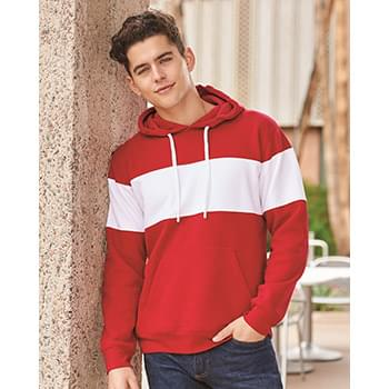 Varsity Fleece Colorblocked Hooded Sweatshirt