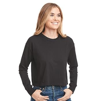 Women's Long Sleeve Modest Crop