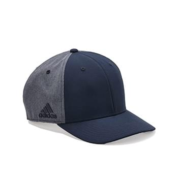 Heathered Back Cap