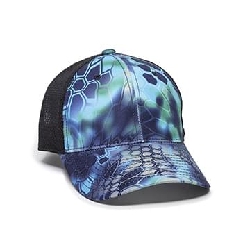 Performance Camo Mesh-Back Cap