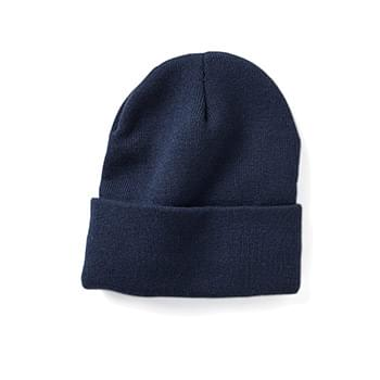 "Fleece Lined 12"" Cuffed Beanie"