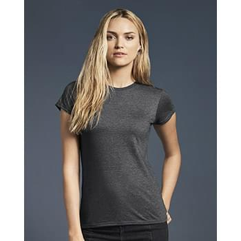 Women's Lightweight Ringspun Fitted T-Shirt