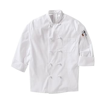Mimix™ Ten Knot Button Chef Coat with OilBlok