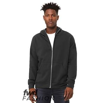 Fast Fashion Unisex Total Zip Hoodie