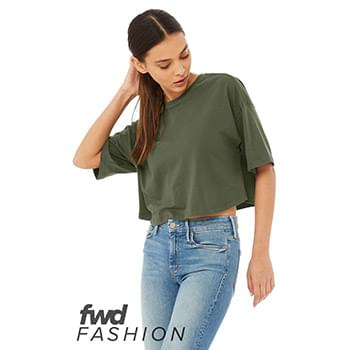 Fast Fashion Women's Jersey Cropped Tee