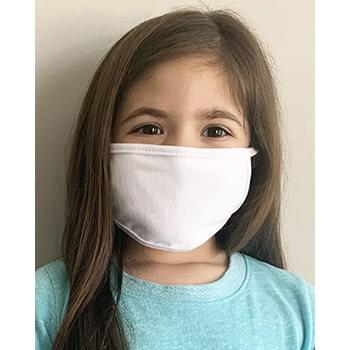 Kids 100% Cotton 2-Ply Face Mask