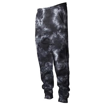 Tie-Dyed Fleece Pants