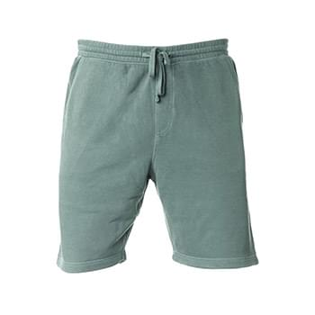 Pigment-Dyed Fleece Shorts